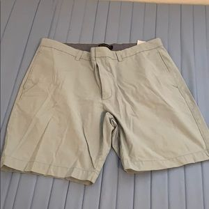 Pale teal shorts